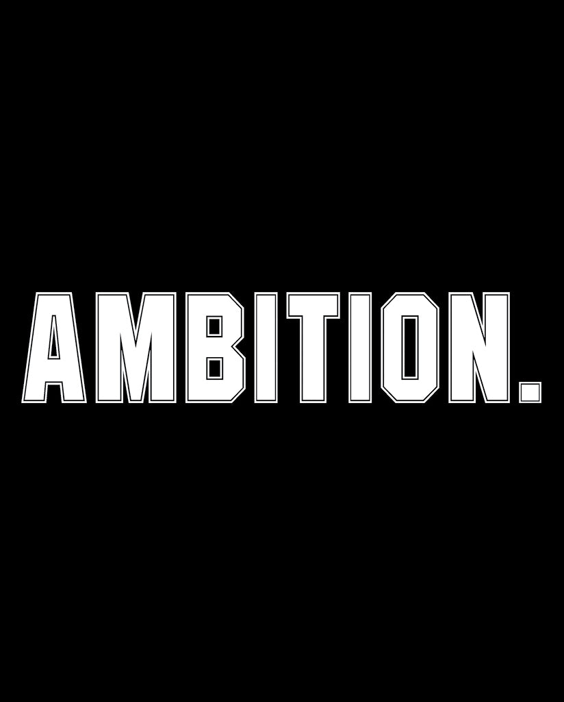 AMBITION Womens Black Flowy V-Neck