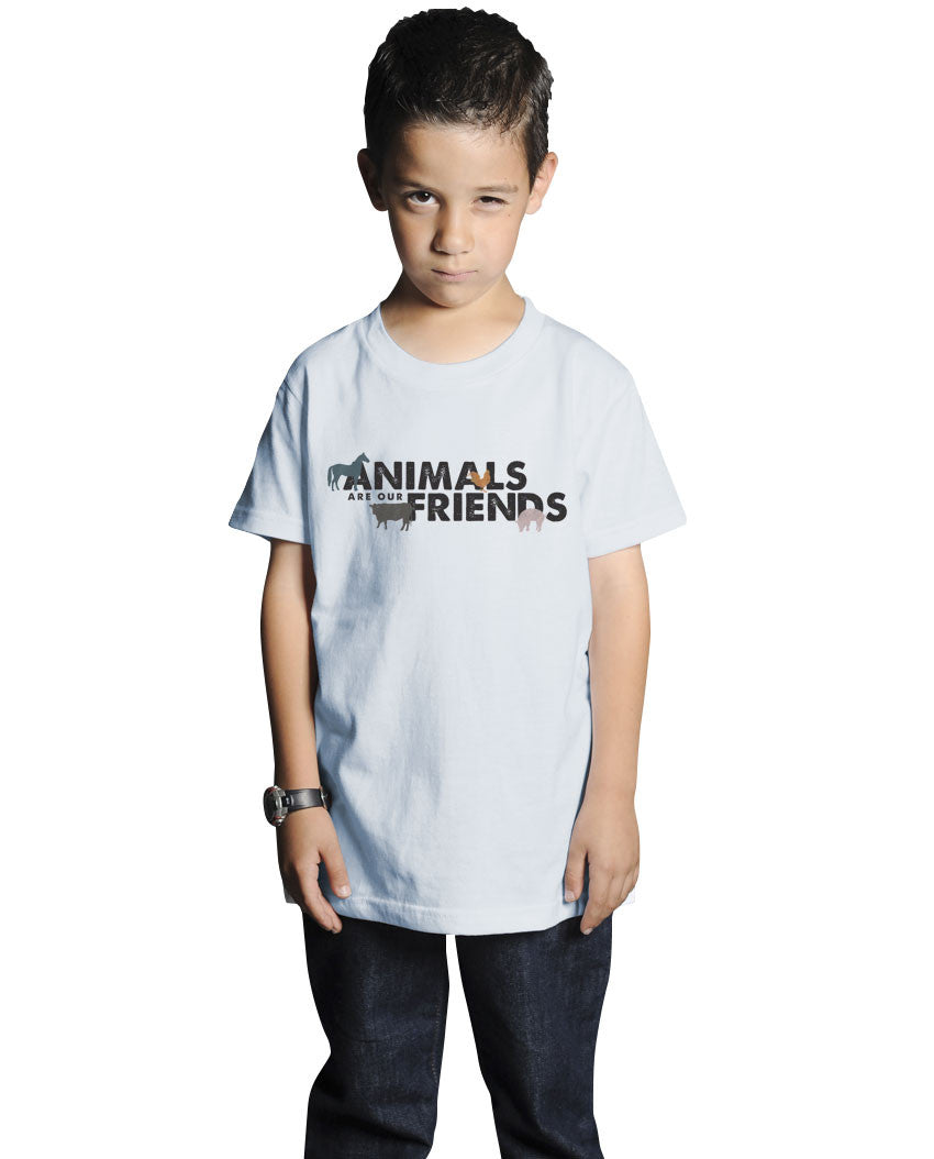 Animals Are Our Friends Short Sleeve Youth Tee