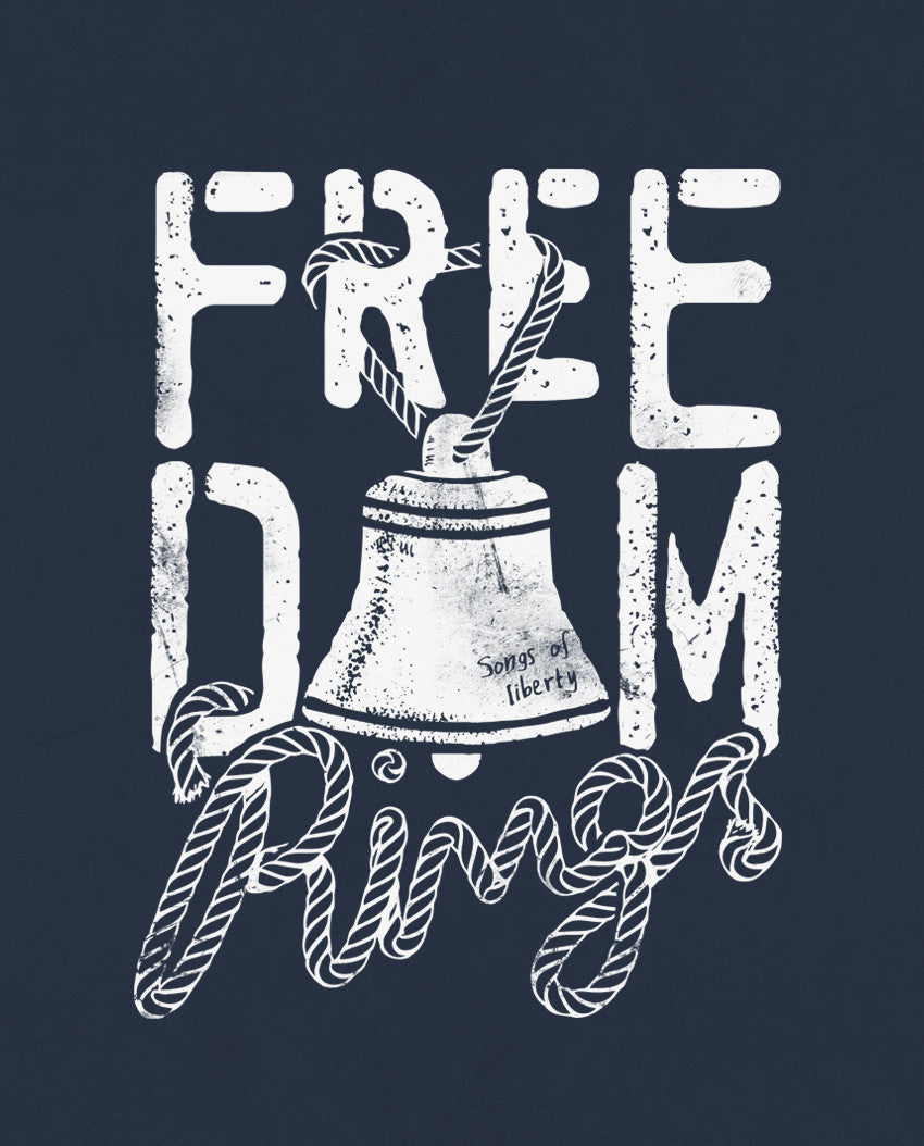 Freedom Rings Unisex Triblend Short Sleeve Tee