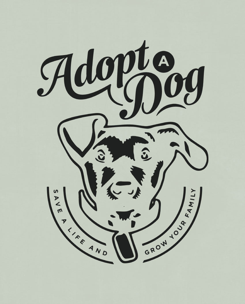 Adopt A Dog Youth Short Sleeve Tee
