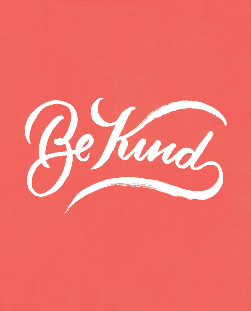 Be Kind Flowy Raglan