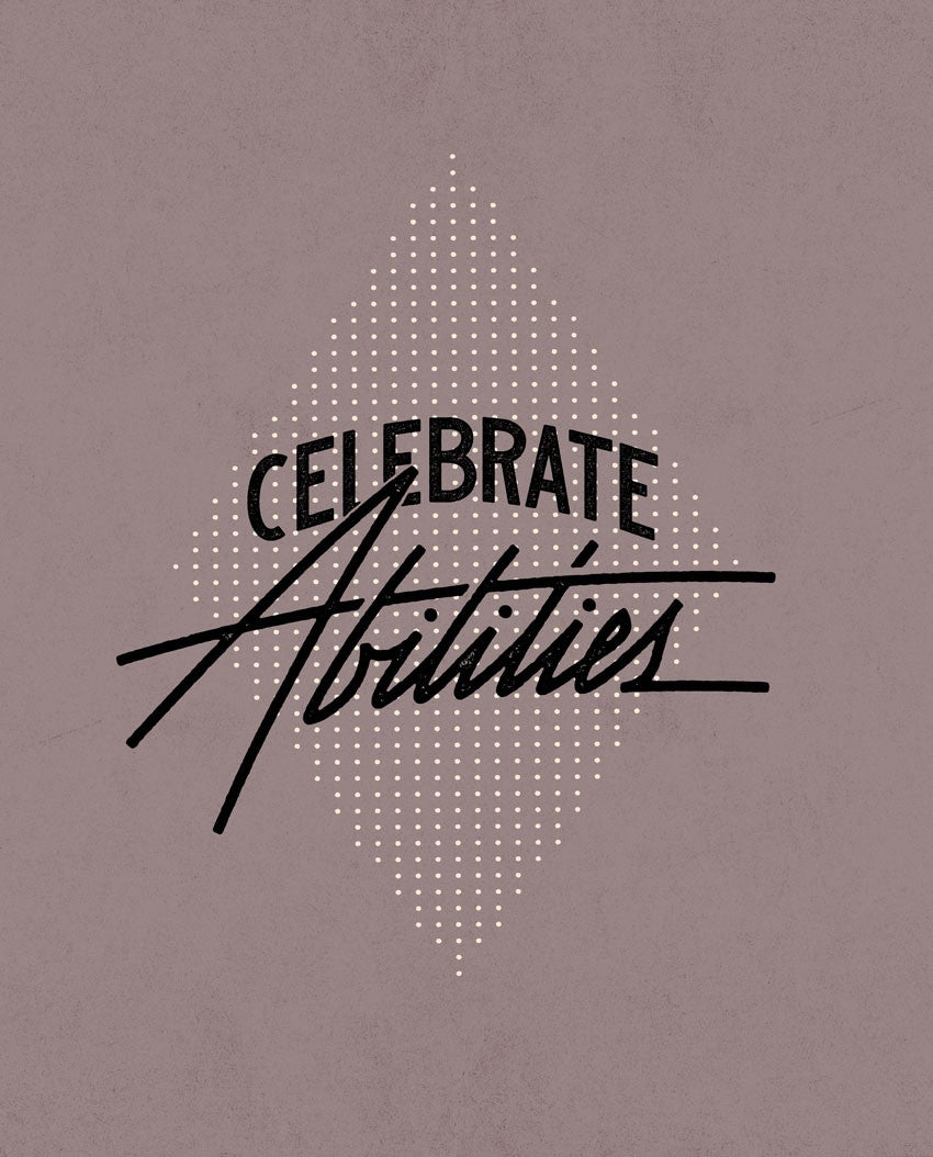 Celebrate Abilities Triblend Short Sleeve Tee