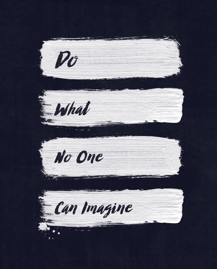 Do What No One Can Imagine Fitted Tee