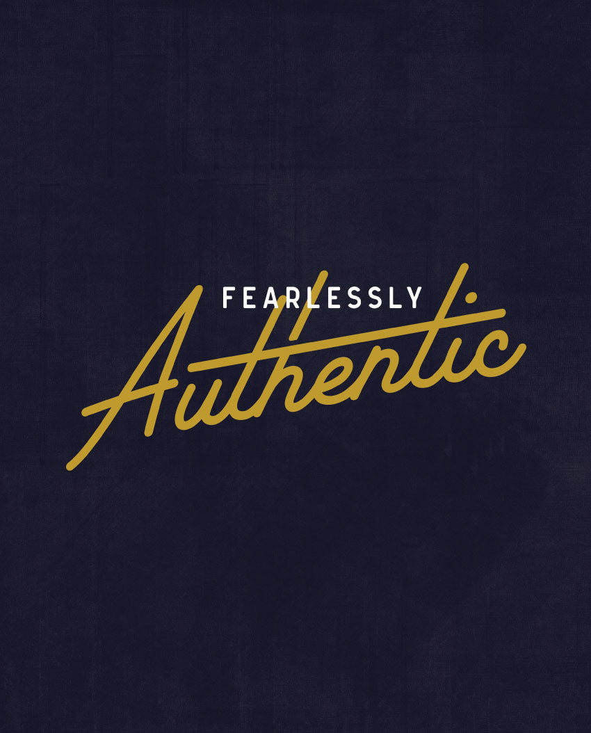 Fearlessly Authentic Triblend Racerback Tank