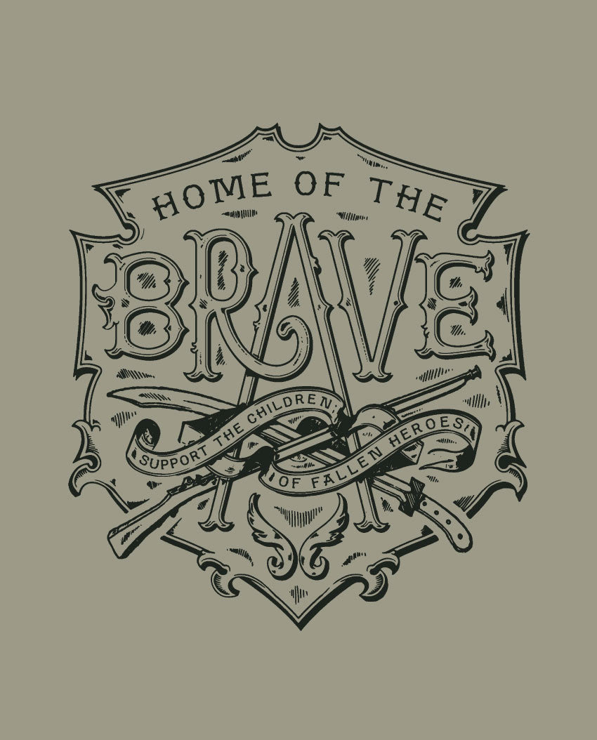 Home of the Brave Fitted Tee