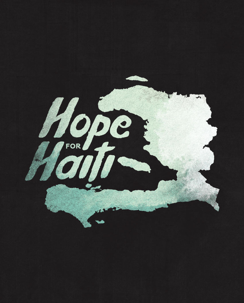 Hope For Haiti Flowy V Neck