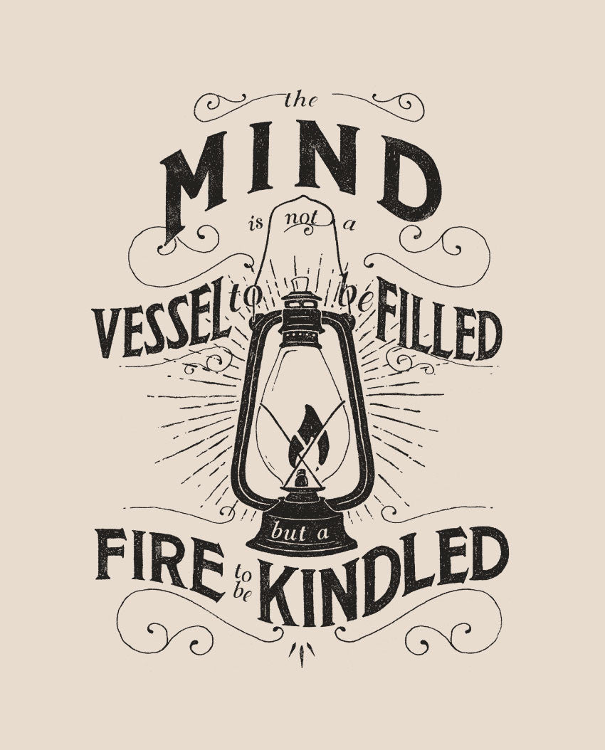 Mind Vessel Fire Triblend Short Sleeve Tee