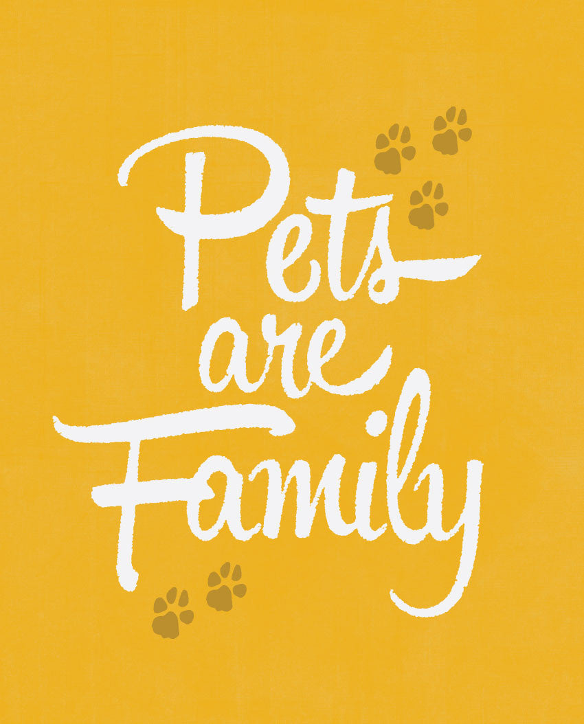 Pets Are Family Tee