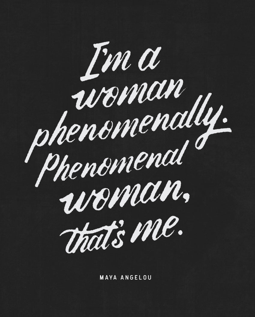 Phenomenal Woman Flowy Raglan