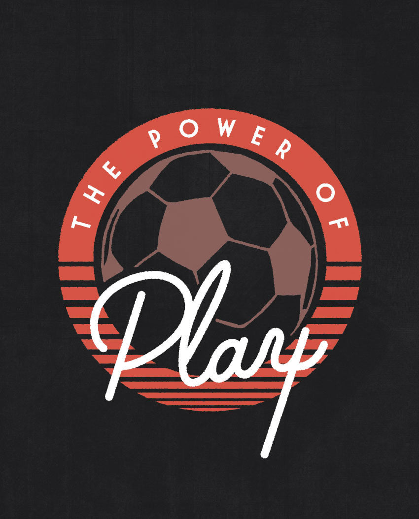 Power Of Play Triblend Short Sleeve Tee