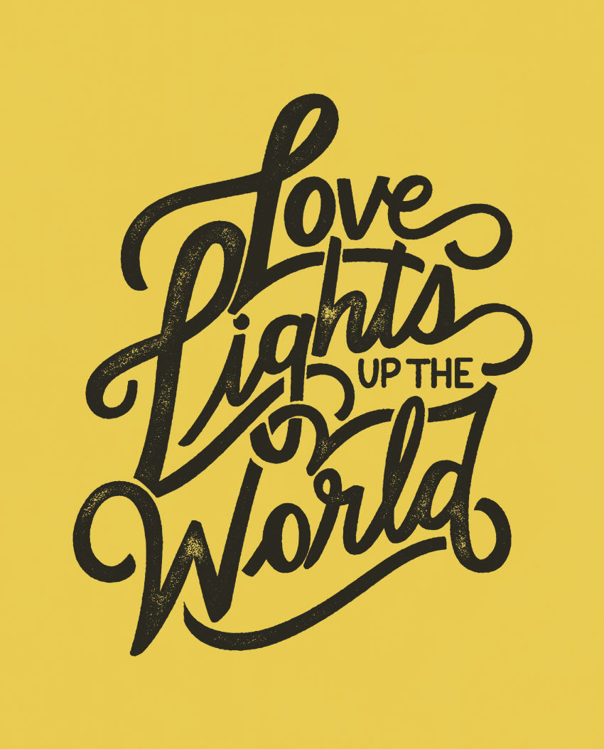 Love Lights Up The World Tee