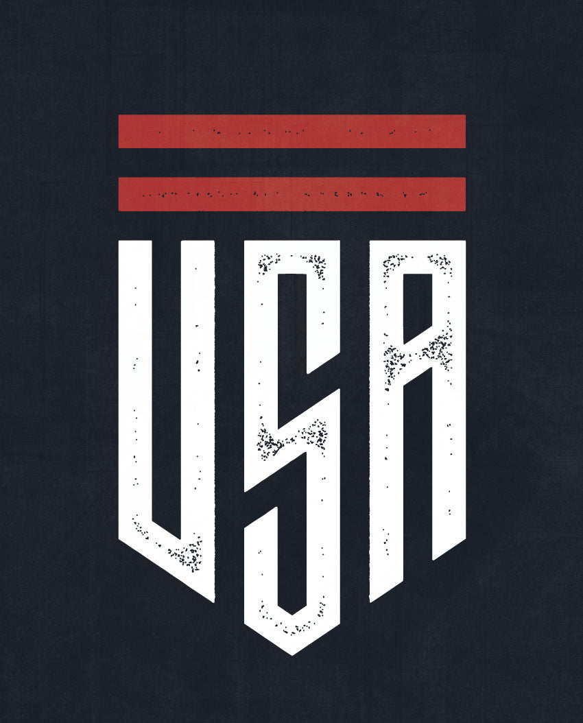 USA Shield Classic Fit Unisex Tee