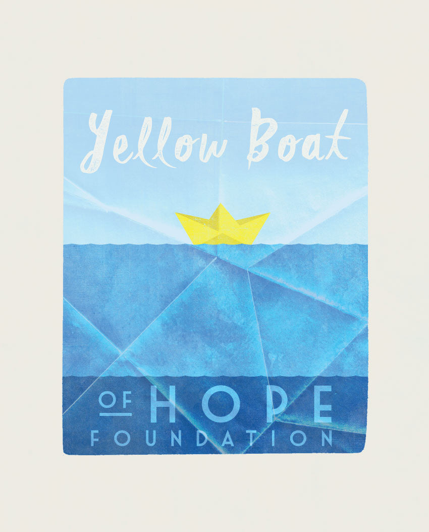 Yellow Boat Tee