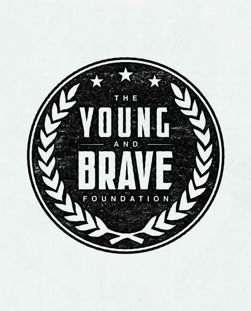 Young and Brave Triblend Short Sleeve Tee