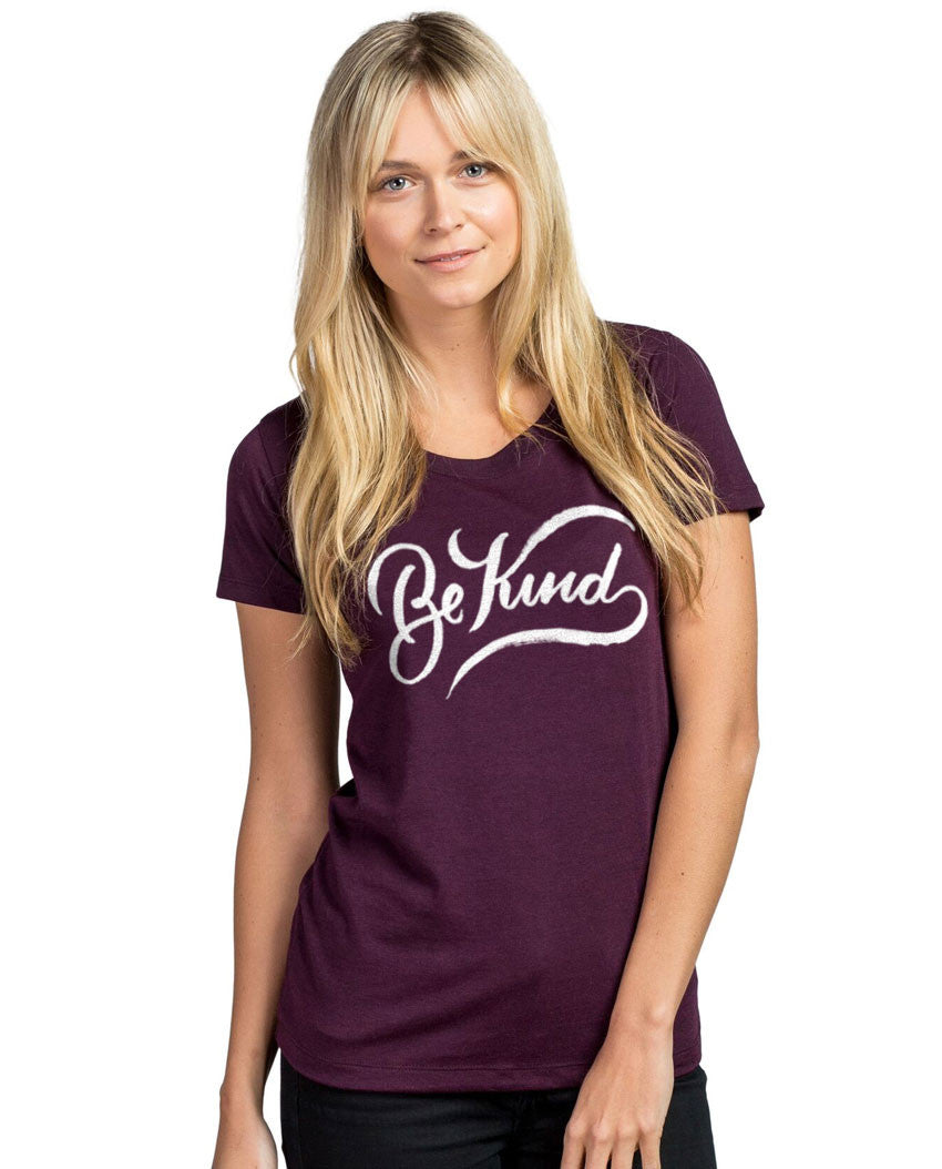Be Kind Triblend Short Sleeve Tee