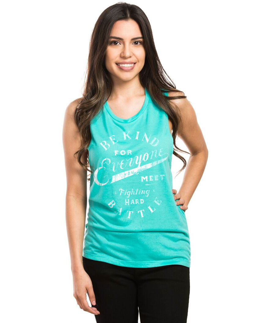Be Kind Everyone Muscle Tank