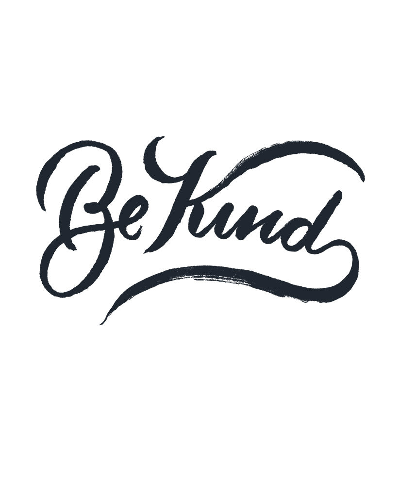 Be Kind Grey Princess Tee