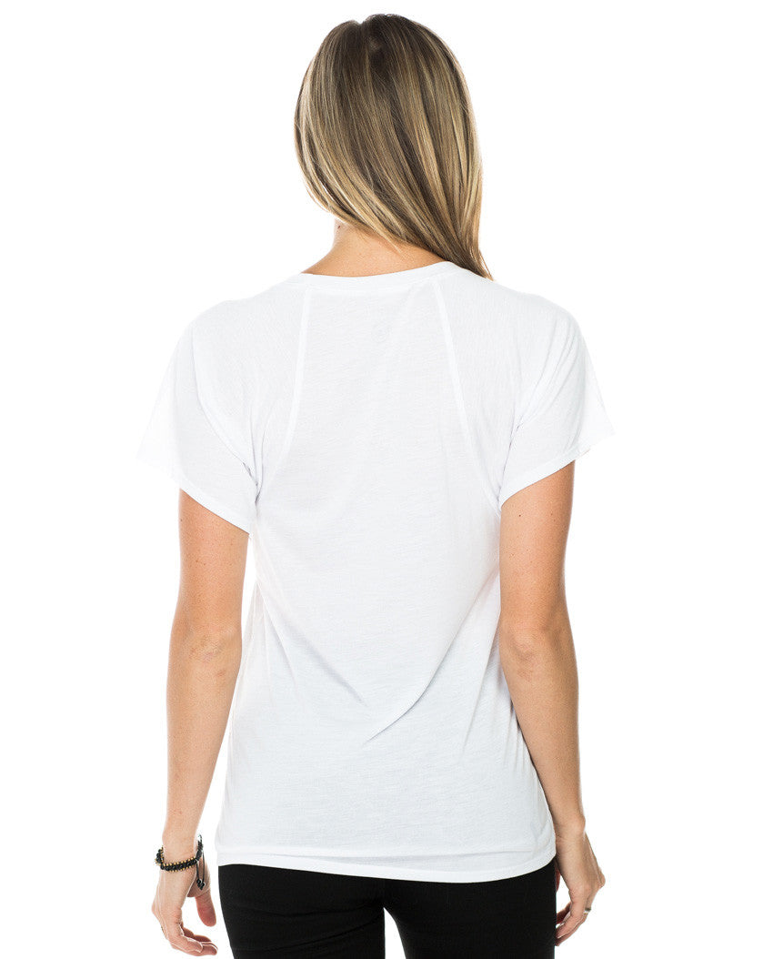 Beautiful and Strong Flowy Raglan