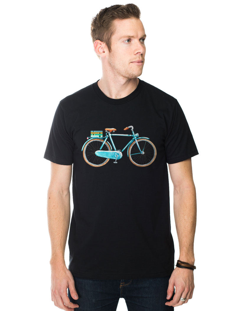Boy Bicycle Fitted Tee
