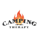 Camping Therapy Mens Premium Fitted Tee