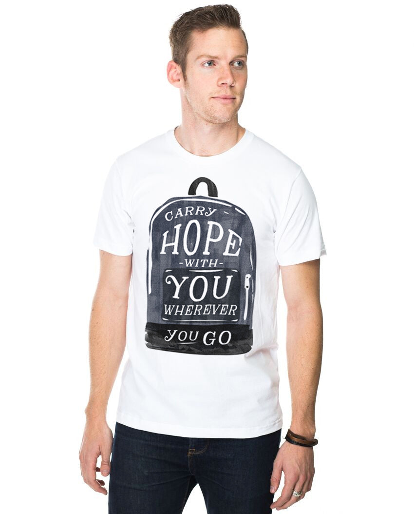 Carry Hope Fitted Tee