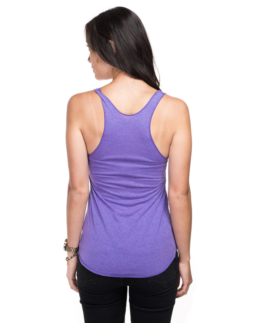 Celebrate Life Fitted Racerback Tank