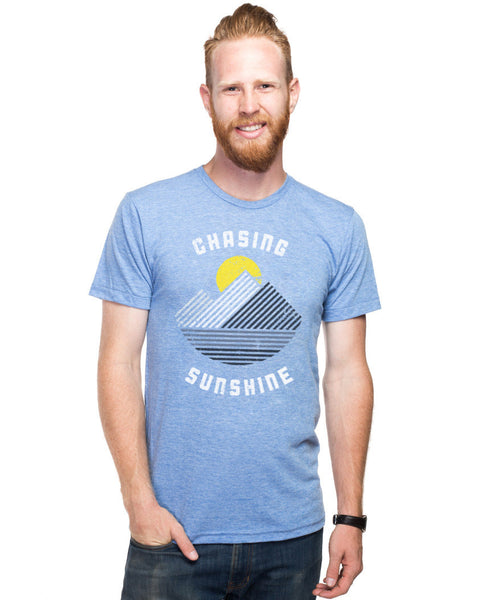 Chasing Sunshine Fitted Tee
