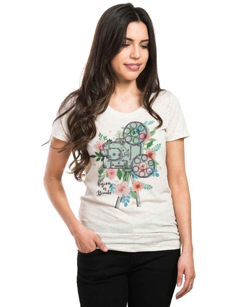 Vision of Beauty Triblend Short Sleeve Tee
