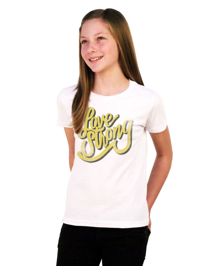 Love Strong Youth Short Sleeve Tee