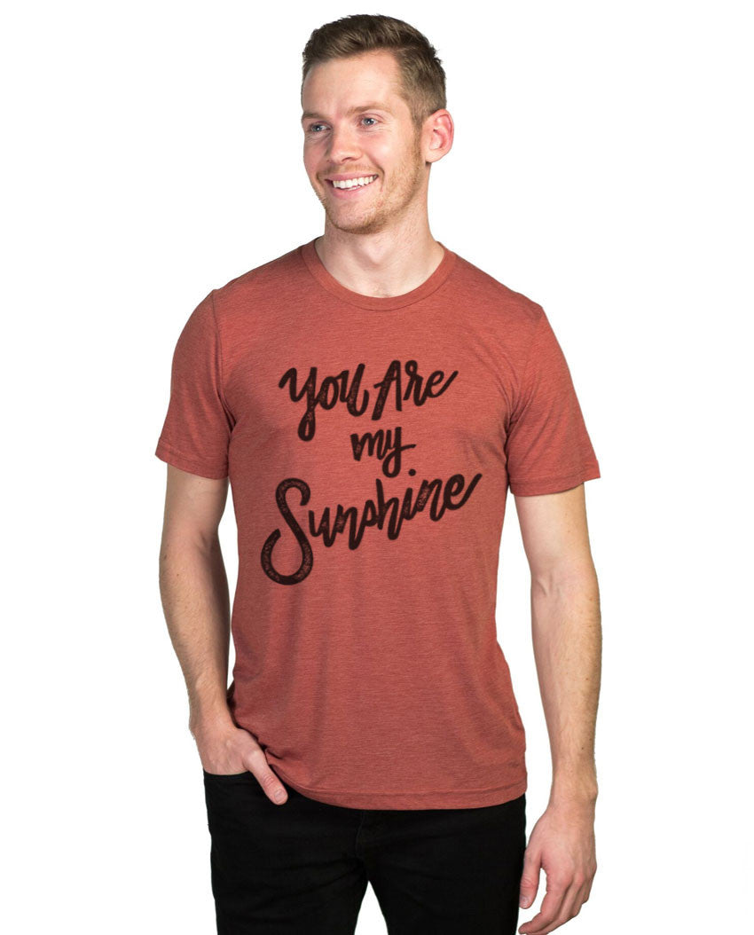 You Are My Sunshine Fitted Tee