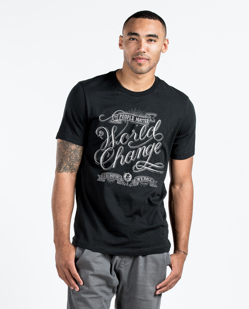 World Change Premium Fitted Tee