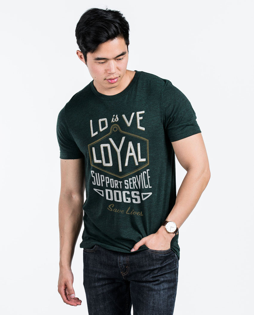 Love Is Loyal Fitted Tee