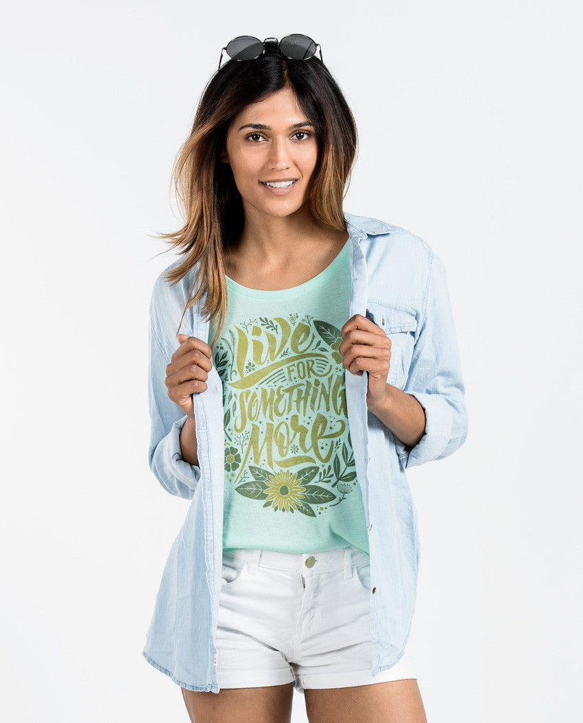 Live For Something More Flowy Dolman
