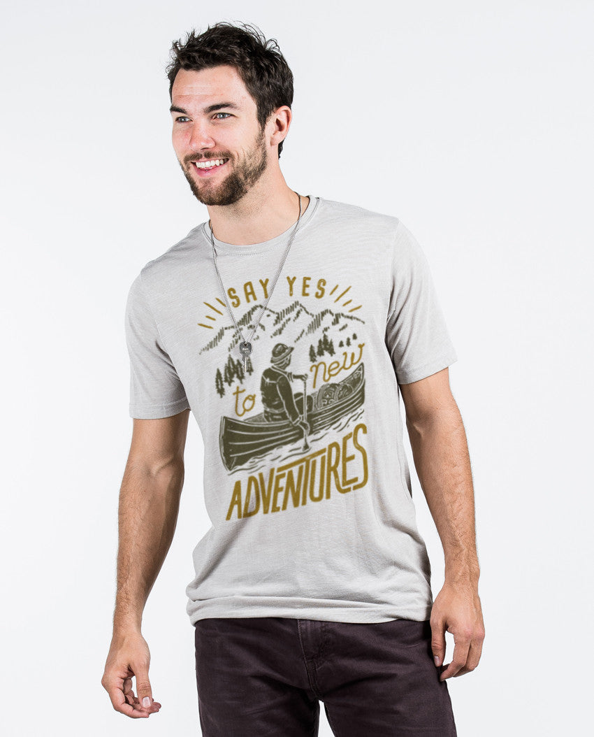 Say Yes To New Adventures Premium Tee