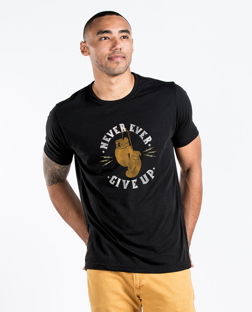 Never Give Up Premium Tee