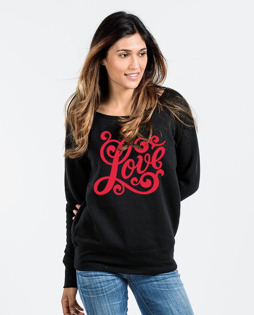 Love Slouchy Sweatshirt