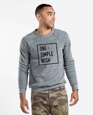 One Simple Wish Crew Neck Sweatshirt