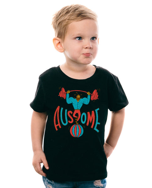 Ausome Circus Toddler Tee