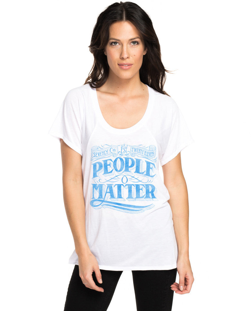 People Matter Flowy Raglan