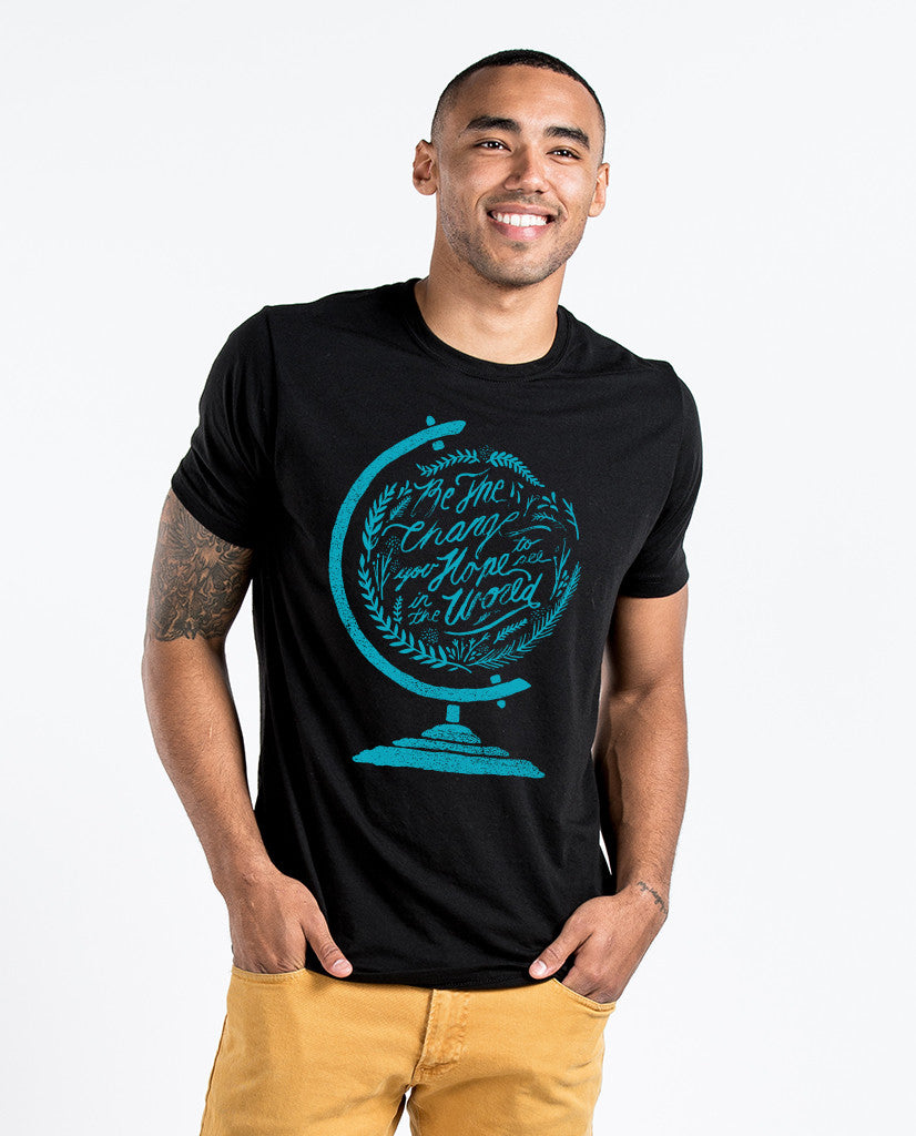 Be The Change Premium Fitted Tee