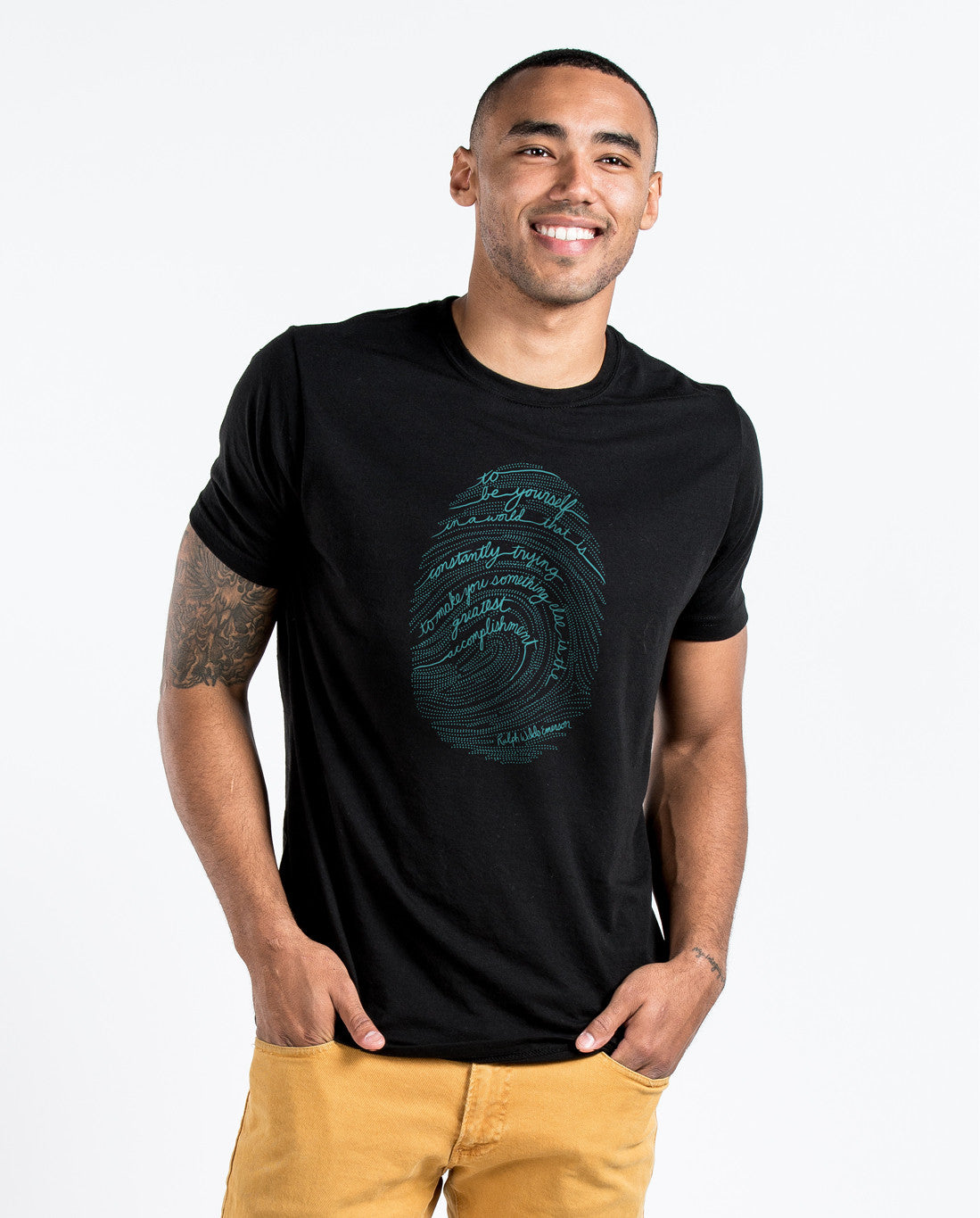 Emerson Fingerprint Premium Fitted Tee
