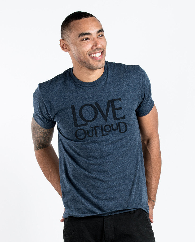 Love Out Loud Unisex Triblend Short Sleeve Tee