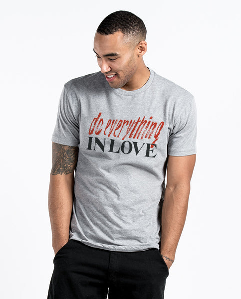 Do Everything In Love Unisex Triblend Short Sleeve Tee