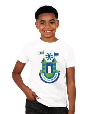 Blessing Not Burden Youth White Short Sleeve Tee