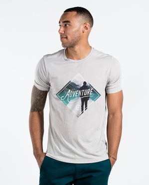 Live For Adventure Mens Premium Tee