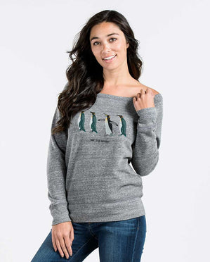 Dare To Be Different Womens Slouchy Sweatshirt