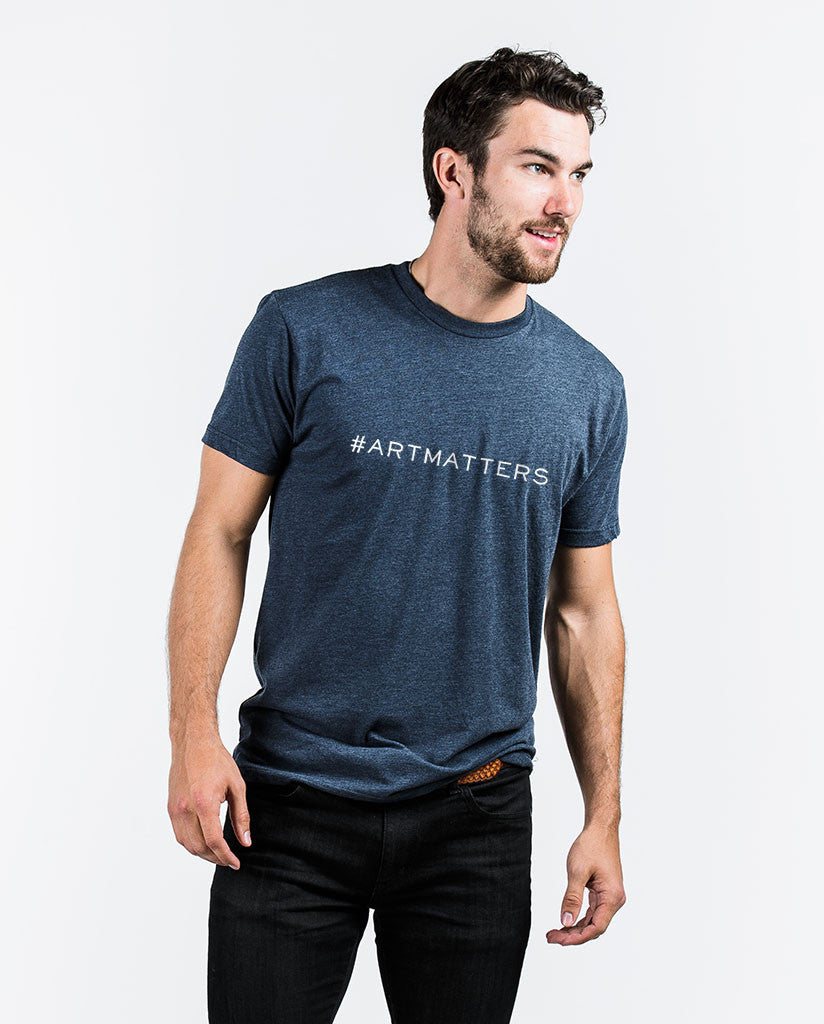#artmatters Mens Premium Fitted Tee