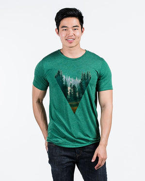 Forest Unisex Triblend Short Sleeve Tee