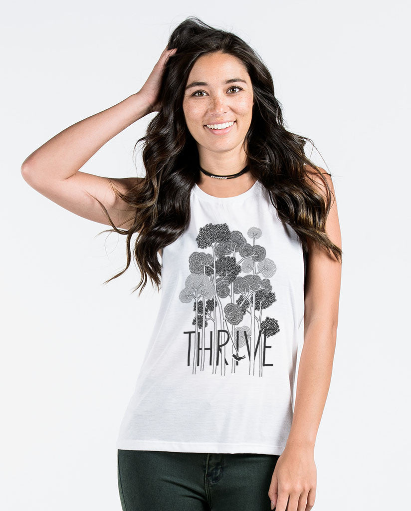 Thrive Womens Muscle Tank