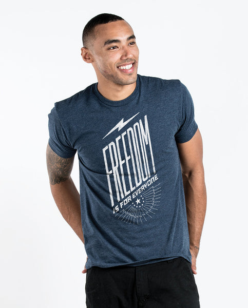 Freedom Is For Everyone Mens Premium Fitted Tee